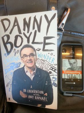 Danny Boyle book and Trainspotting