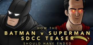 How The Batman v Superman Teaser Should Have Ended