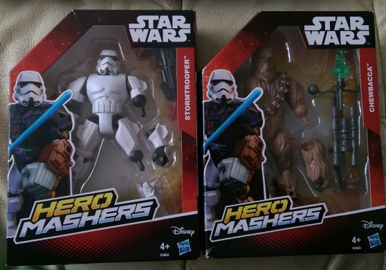 Star Wars Hero Mashers Toy Review