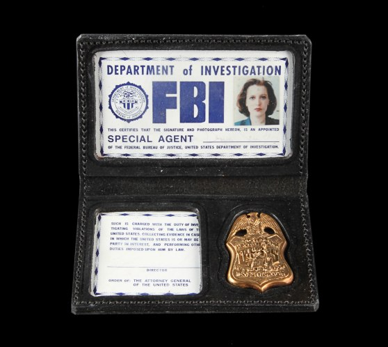 Xfiles-ScullyFBIidBadge7